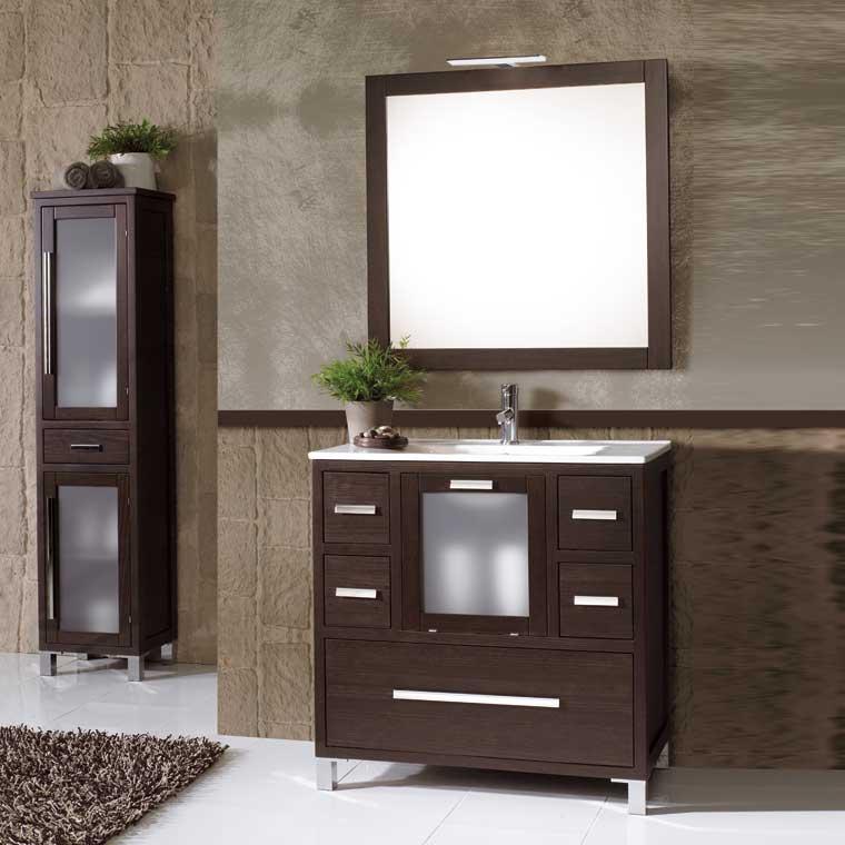 Mueble de ba o sara de 80 x 45 cm mueble de la serie de for Muebles de bano 75 cm
