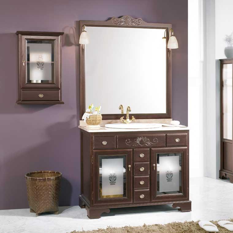 Mueble de ba o talla de 100 x 55 cm mueble de la serie de - Muebles de lavabo rusticos ...