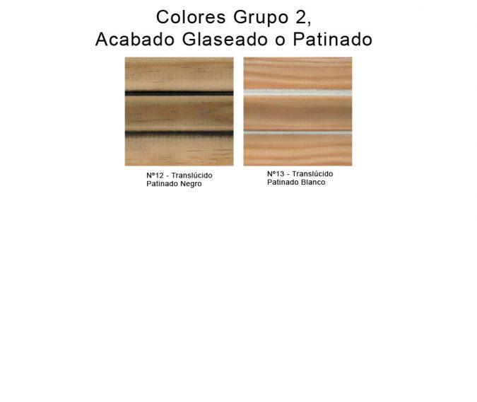 Colores Glaseados o Patinados de Muebles de Baño
