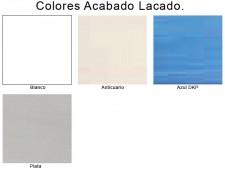 Colores Lacados y Patinados de Muebles de Baño