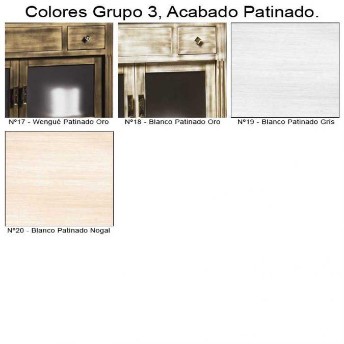 Colores Patinados de Muebles de Baño
