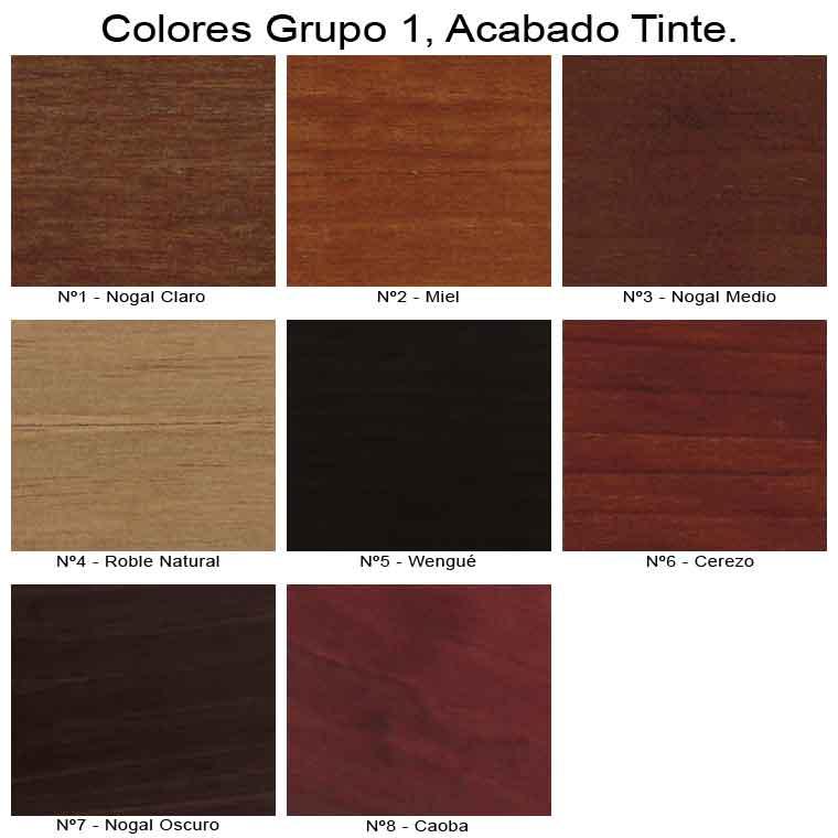 Colores Acabado Tinte