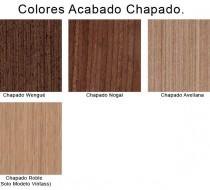 Colores Chapados de Muebles de Baño
