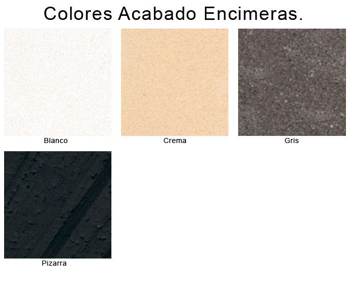 Colores acabados de encimeras - Encimeras de colores ...