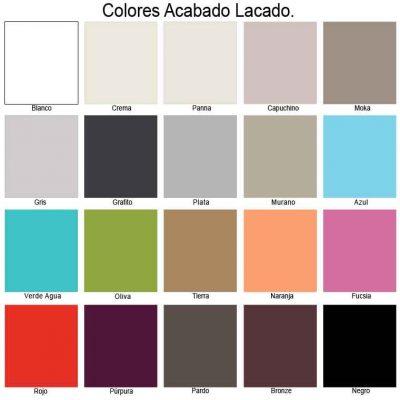 Colores Lacados de Muebles de Baño