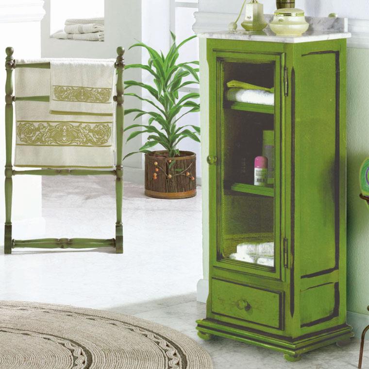Mueble auxiliar ba o de pie olimpo 110 cm de la serie de for Mueble auxiliar lavabo