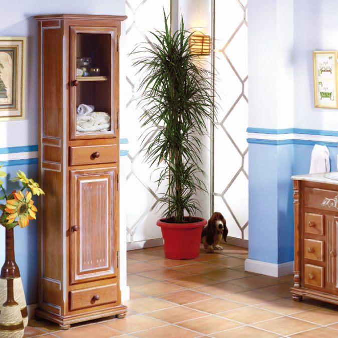 Mueble Auxiliar Baño de Pie Olimpo 180 cm.
