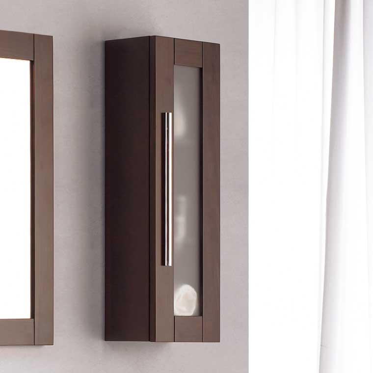 Mueble auxiliar ba o de colgar paula armario de la serie for Muebles auxiliares de bano baratos
