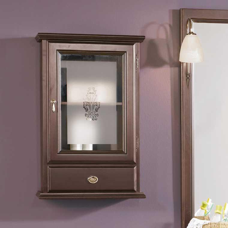 Mueble auxiliar ba o de colgar talla armario de la serie for Mueble auxiliar lavabo