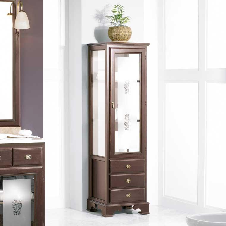 Mueble auxiliar ba o de pie talla armario de la serie de - Muebles auxiliares de bano baratos ...