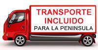 Transporte Incluido en Muebles de Baño Mudeba