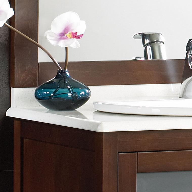 Encimeras muebles de ba o cer mica cristal resina o m rmol for Como pulir marmol blanco