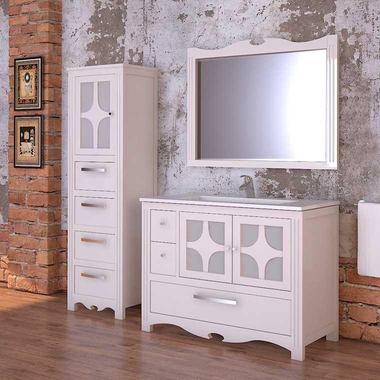 Mueble de ba o imperio 100 x 45 cm mueble de la serie de - Muebles de bano rusticos online ...