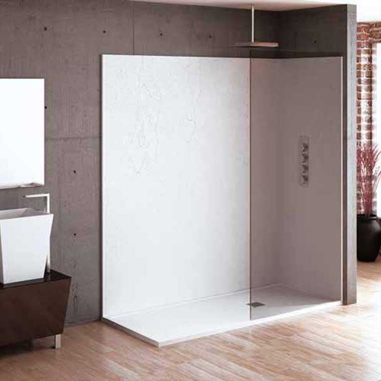 Platos de ducha de resina enmarcado for Platos de ducha bricor