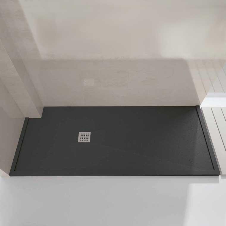 Platos de ducha de resina semi enmarcado - Plato de ducha resina ...