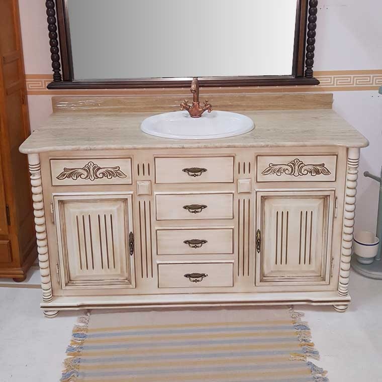 Mueble de ba o olimpo 140 x 45 cm oferta - Oferta muebles de bano ...