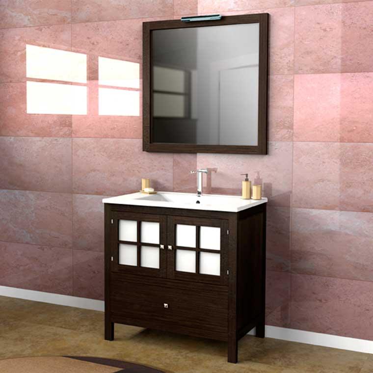 Mueble de ba o tania 80 x 45 cm mueble de la serie de - Mueble de bano online ...
