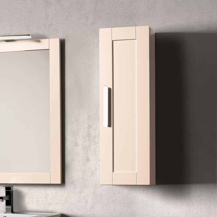 Muebles Auxiliares Baño De Madera : Mueble auxiliar ba?o de colgar amaya cm armario