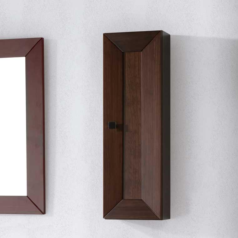 Mueble auxiliar ba o de colgar carla armario de la serie - Muebles de bano de forja ...