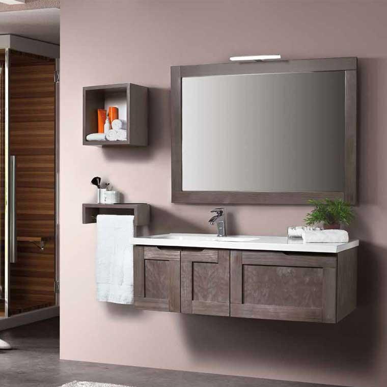 Mueble de ba o adriana 120 cm mueble de la serie de ba o for Muebles de bano modernos online