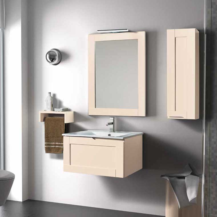 Mueble de ba o adriana 60 cm mueble de la serie de ba o for Muebles de lavabo de 60 cm