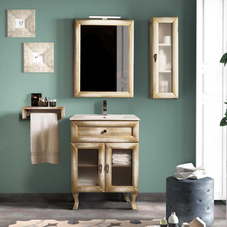 Mueble de ba o alessia 60 cm mueble de la serie de ba o - Muebles de bano de 60 cm ...