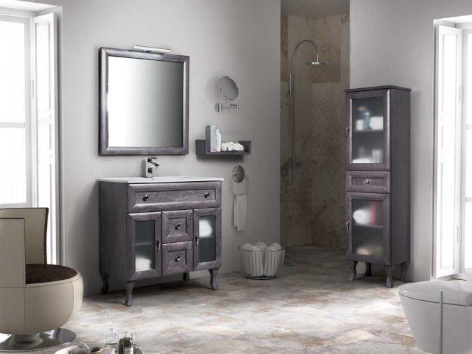 Ambiente Mueble de Baño Alessia 80 cm.
