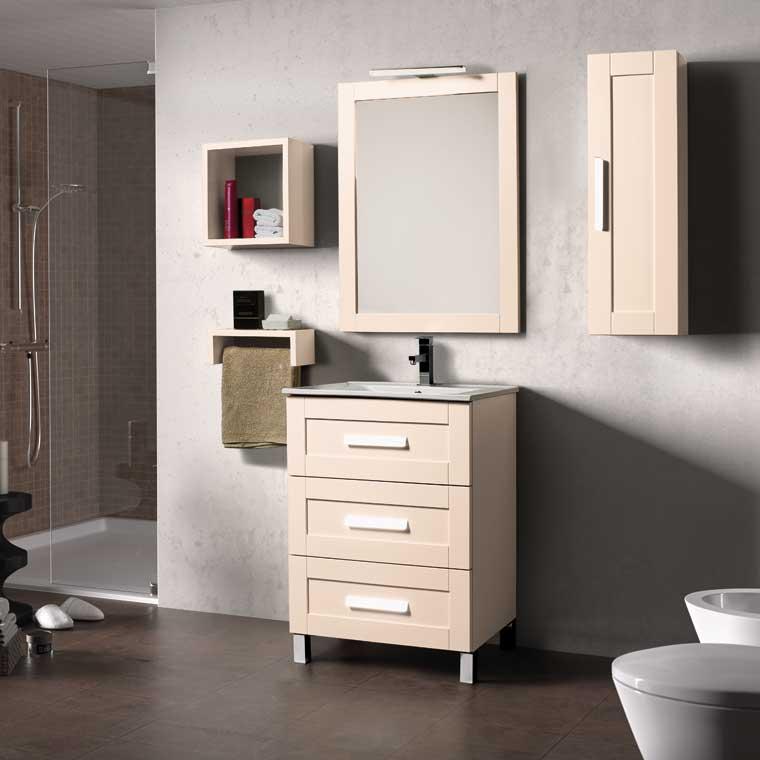 Mueble de ba o amaya 60 cm mueble de la serie de ba o amaya - Muebles de bano de 60 cm ...