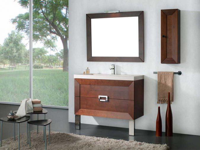 Ambiente Mueble de Baño Carla de 100 cm.
