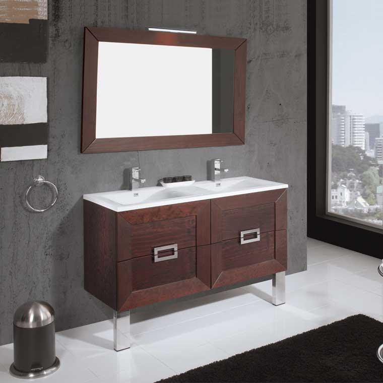Mueble de ba o carla de 120 cm mueble de la serie de ba o - Muebles de bano de forja ...