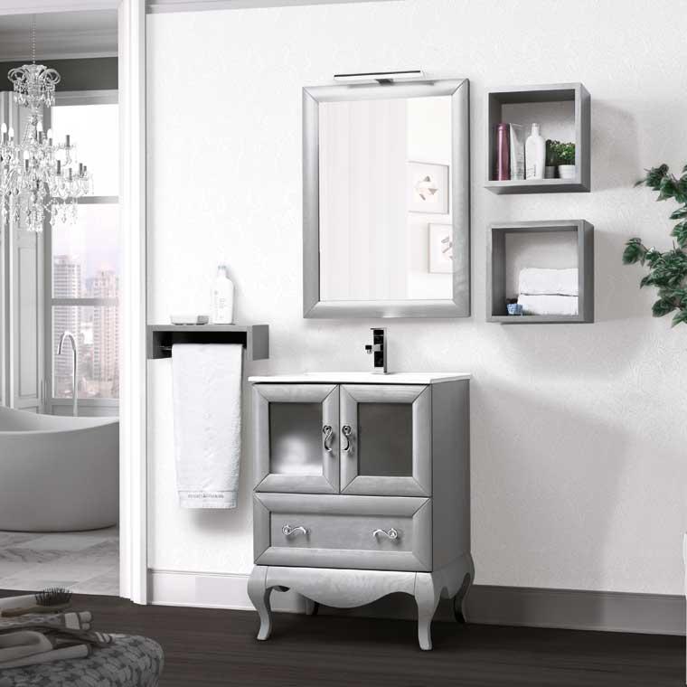 Mueble de ba o estefan a 60 cm mueble de la serie de ba o - Muebles de bano de 60 cm ...