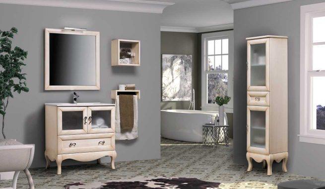 Ambiente Mueble de Baño Estefanía 80 cm.