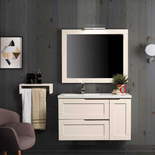 Mueble de Baño Nuevo Alba 100 cm.