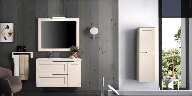 Mueble de Baño Nuevo Alba 100 cm. Ambiente