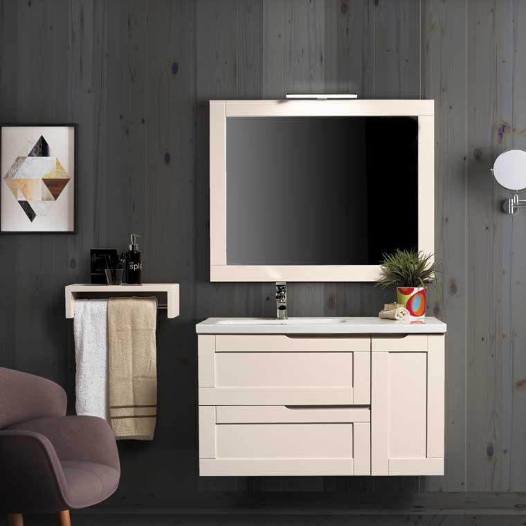 Mueble de ba o nuevo alba 100 cm de la serie de ba o for Muebles alba