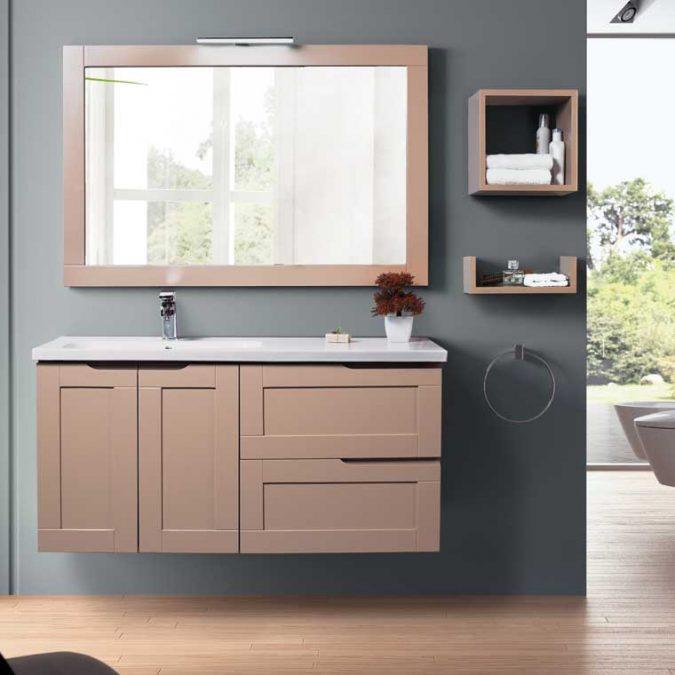 Mueble de Baño Nuevo Alba 120 cm.
