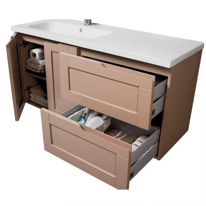 Mueble de Baño Nuevo Alba 120 cm. Detalles