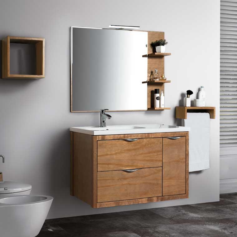 Mueble de ba o sheila 100 cm mueble de la serie de ba o - Mueble de bano online ...