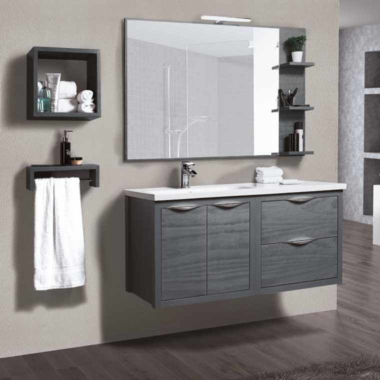 Mueble de ba o sheila 120 cm mueble de la serie de ba o for Mueble alto para bano