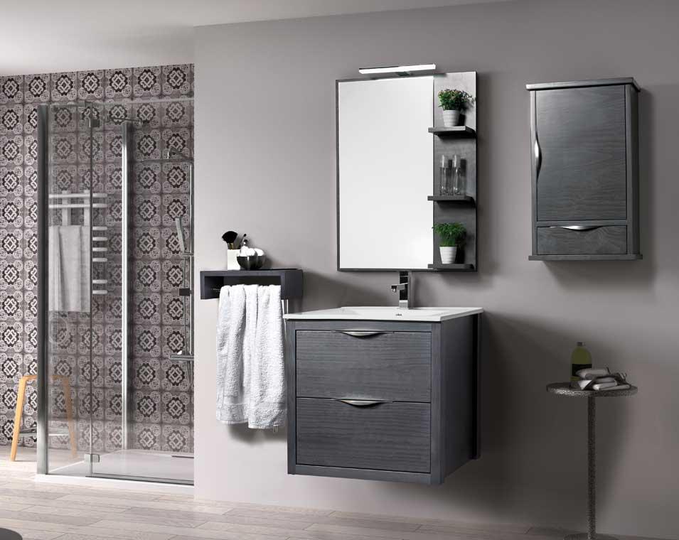 Mueble de ba o sheila 60 cm mueble de la serie de ba o sheila for Muebles de lavabo de 60 cm