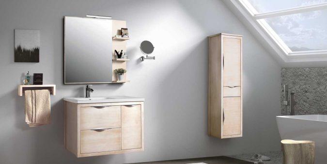 Ambiente Mueble de Baño Sheila 80 cm.