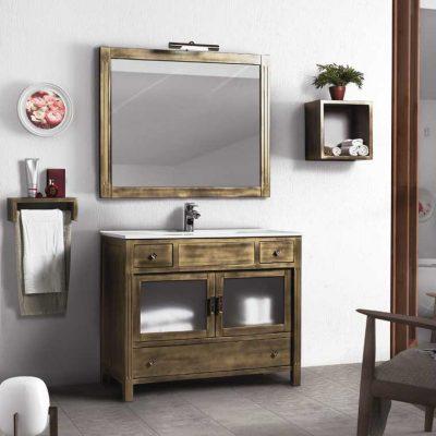 Muebles Rusticos Baño | Muebles De Bano Rusticos Venta Online Mudeba