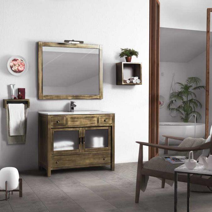 Ambiente Mueble de Baño Sofía 100 cm.