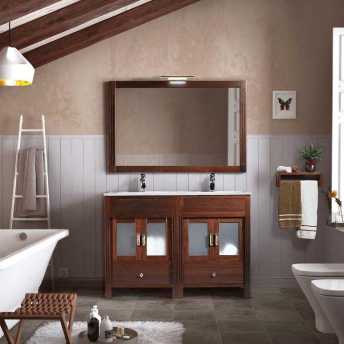 Ambiente Mueble de Baño Sofía 120 cm.