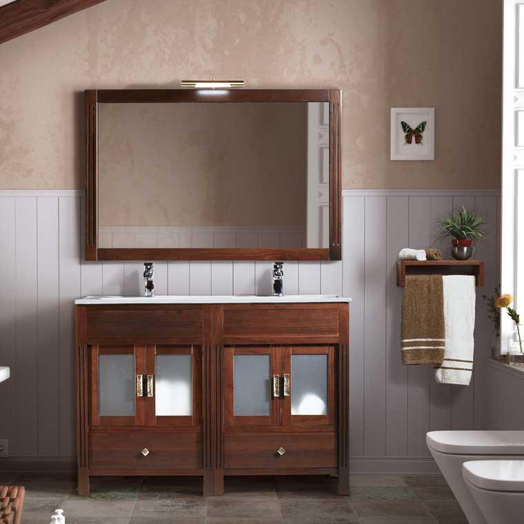 Mueble de Baño Sofía 120 cm. Mueble de la serie de Baño Sofía