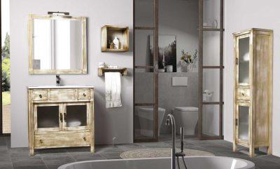 Ambiente Mueble de Baño Sofía 80 cm.