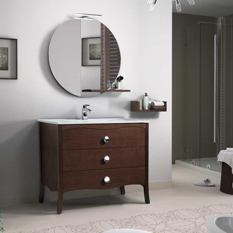Mueble de ba o ver nica 100 cm mueble de la serie de ba o Muebles de bano 150 cm