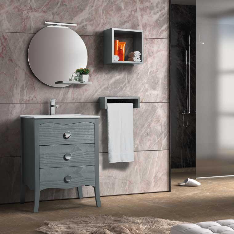 Mueble de ba o ver nica 60 cm mueble de la serie de ba o - Muebles de bano de 60 cm ...