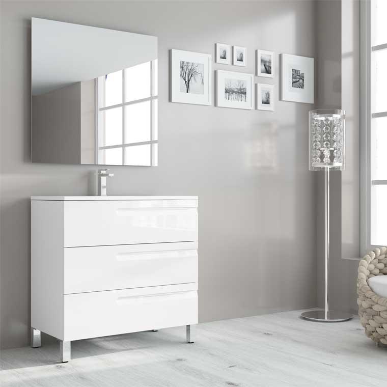 Muebles de Baño Zeus Suelo