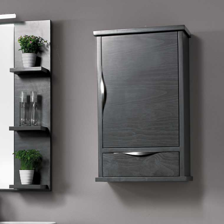 Mueble auxiliar ba o colgar sheila armario de la serie de - Muebles auxiliares de bano para colgar ...